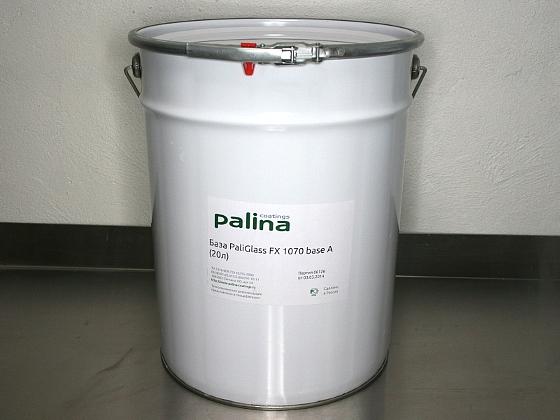 Акриловая краска по стеклу PaliPlast FX 1070 base A (20л)